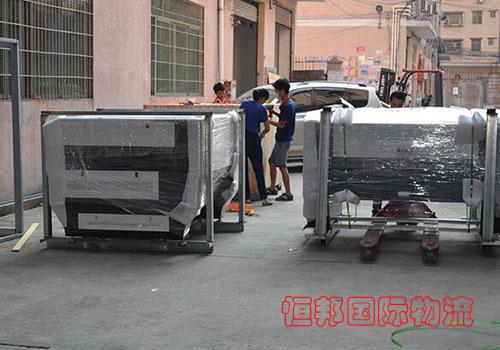 台湾设备进口报关安全送到客户工厂