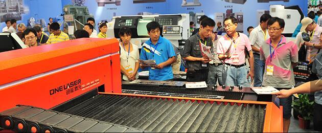 展会会中国制造的各种机械设备