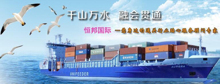 海运集装箱运输进出口货物