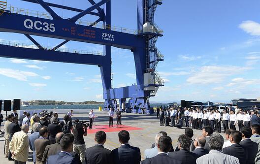 港口便利条件让进出口货物快速通关
