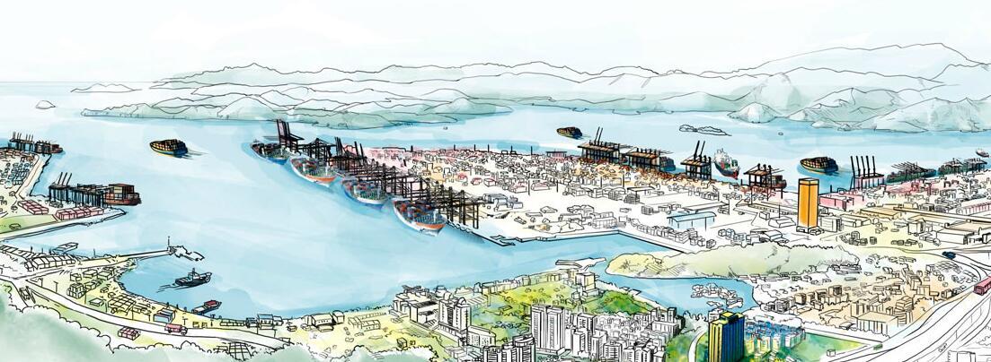 盐田港口规划发展图