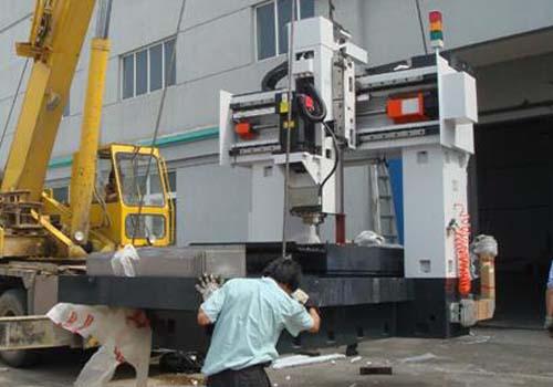 机械进口装运前检验装卸