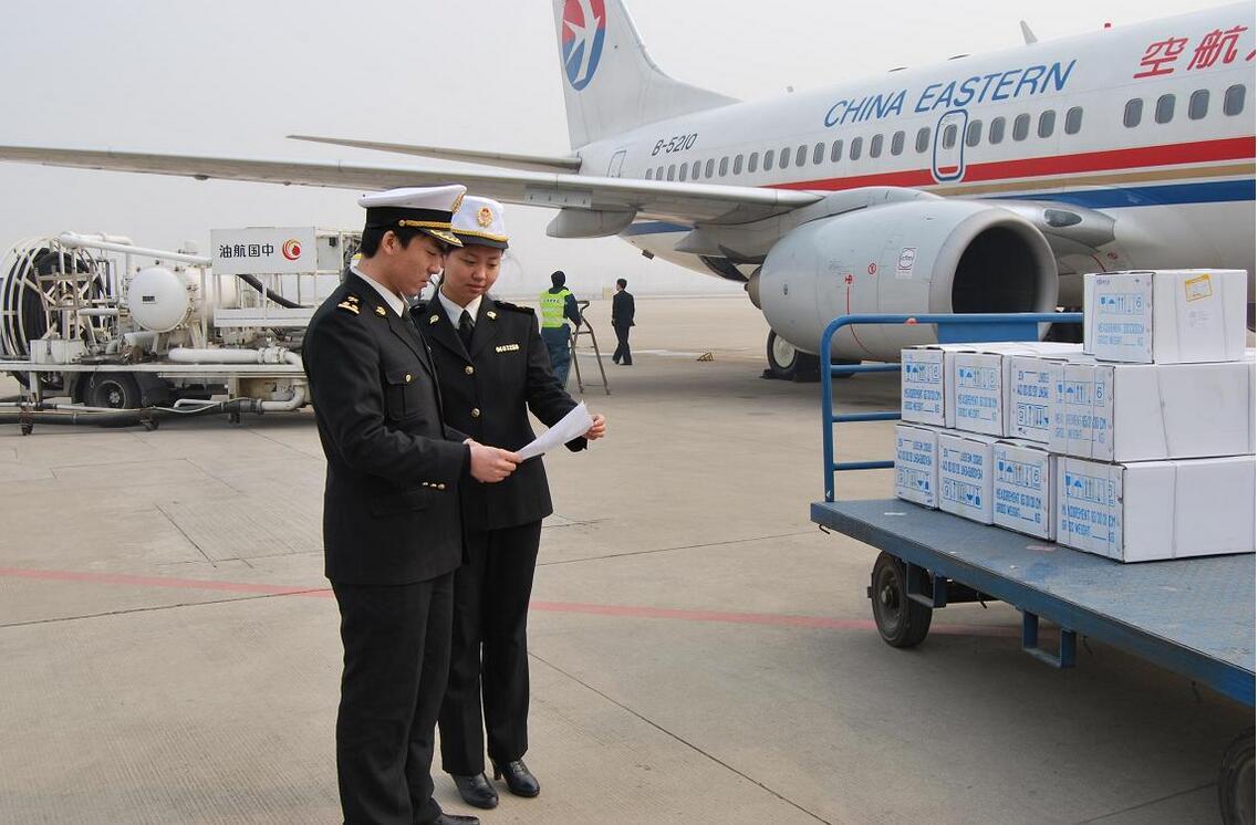 空運進口商品機場配合商檢查驗