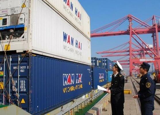 海運進口商品到達監管區向商檢報檢