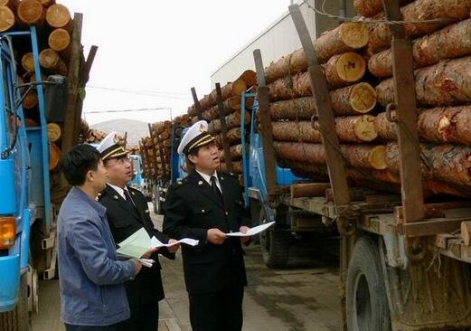 木材进口报关海关查验